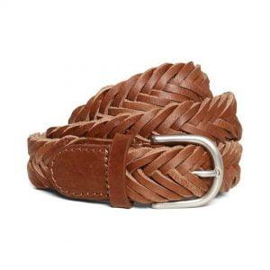 Cinturón de piel marrón Elen Part Two