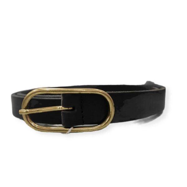 Cinturón negro piel vegana Jorie Part Two
