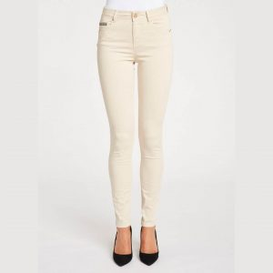 Pantalón color crema pitillo Gaudí