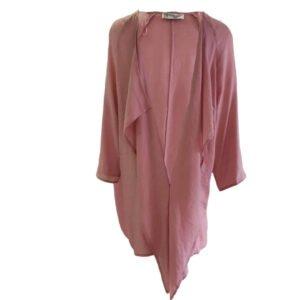 Kimono de viscosa Moutaki rosa