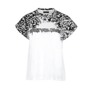 Camiseta Blanca y negra Religion UK