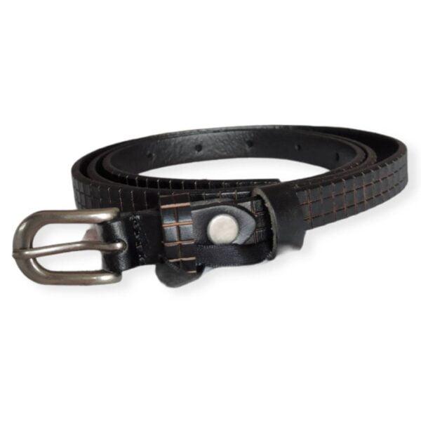 Cinturón fino negro Nü Denmark