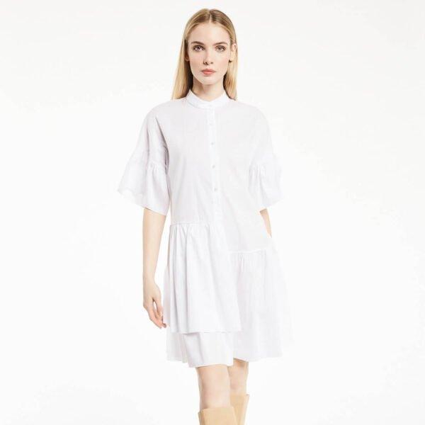 Camisa blanca de popelín Gaudí