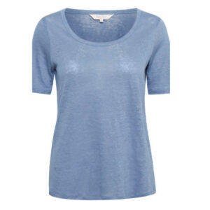Camiseta azul de lino Ivala PartTwo