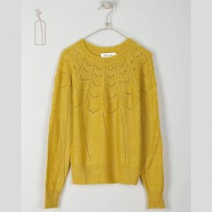 Jersey calados ocre indiandcold