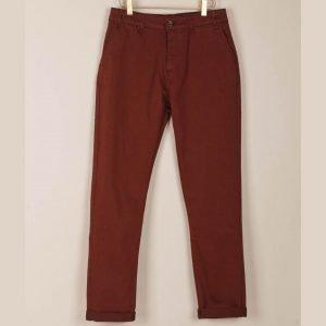 Pantalón chino Luca indiandcold caoba